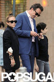 Mary-Kate Olsen pictured with boyfriend Olivier Sarkozy.