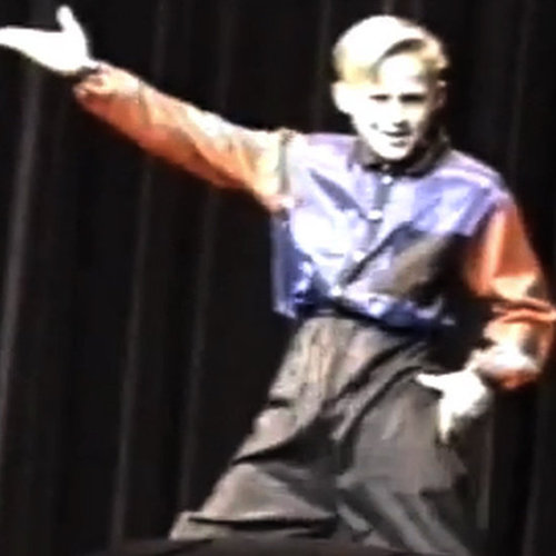 Ryan Gosling Dance Competition Video Footage
