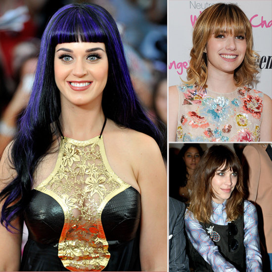 Blunt Bangs: Celebs Show How To Work The Trend With Ease