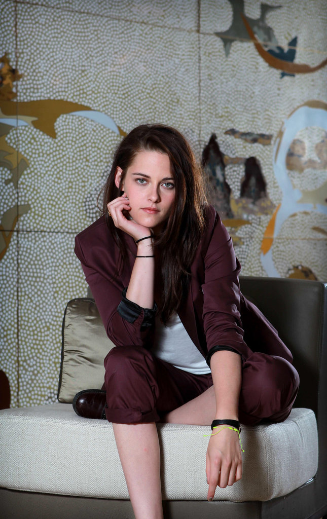 Kristen Stewart posed for a photo shoot for Snow White and the Huntsman in Sydney.