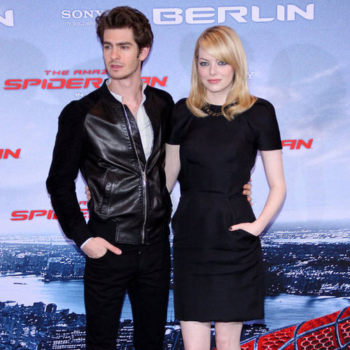 Emma Stone and Andrew Garfield Pictures in Berlin