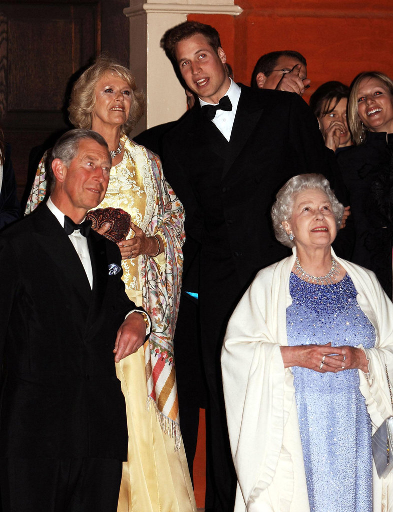 Prince William was dapper in April 2006 to chat with Queen Elizabeth; Prince Charles; and Camilla, Duchess of Cornwall, at Kew Palace in London.