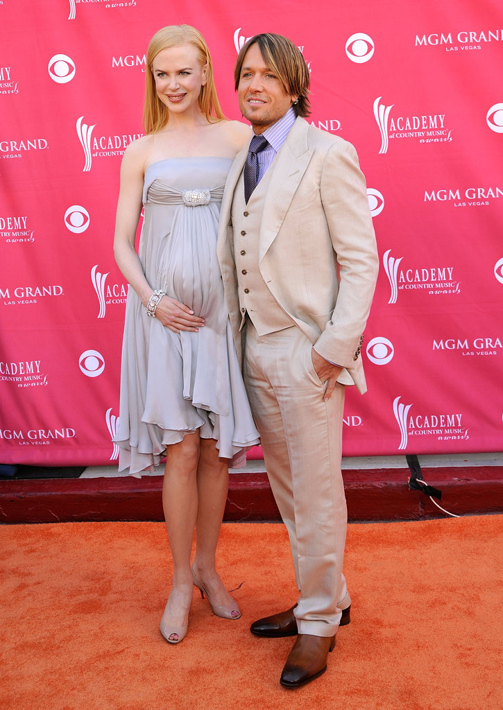Nicole was pregnant with Sunday Rose at the Academy of Country Music Awards in 2008.