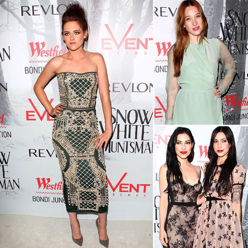 See Celebrities at the Snow White and the Huntsmen Premiere in Sydney: Kristen Stewart, Erin McNaught, Sophie Lowe + More