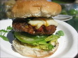 Pork Chipotle Muenster Burger