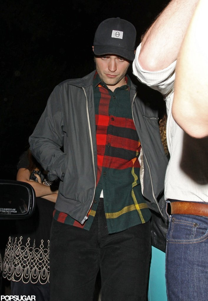 Robert Pattinson went to a friend's show in LA.