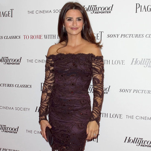 Penelope Cruz To Rome With Love Screening (Video)