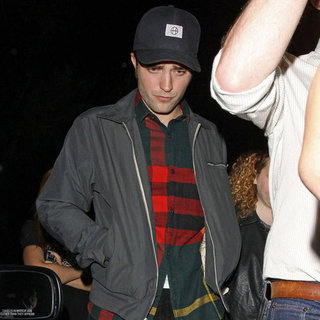Robert Pattinson Pictures at El Rey Theatre