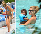 Doutzen Kroes Wears Her Bikini to Wrap Up a Miami Vacation