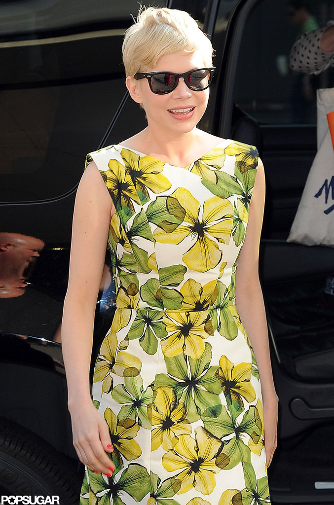 Michelle Williams visited CBS This Morning.