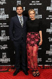 Joshua Jackson and Diane Kruger arrived in Las Vegas for the NHL Awards.