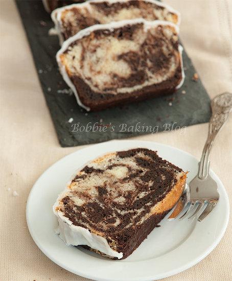 swirled Pound Cake