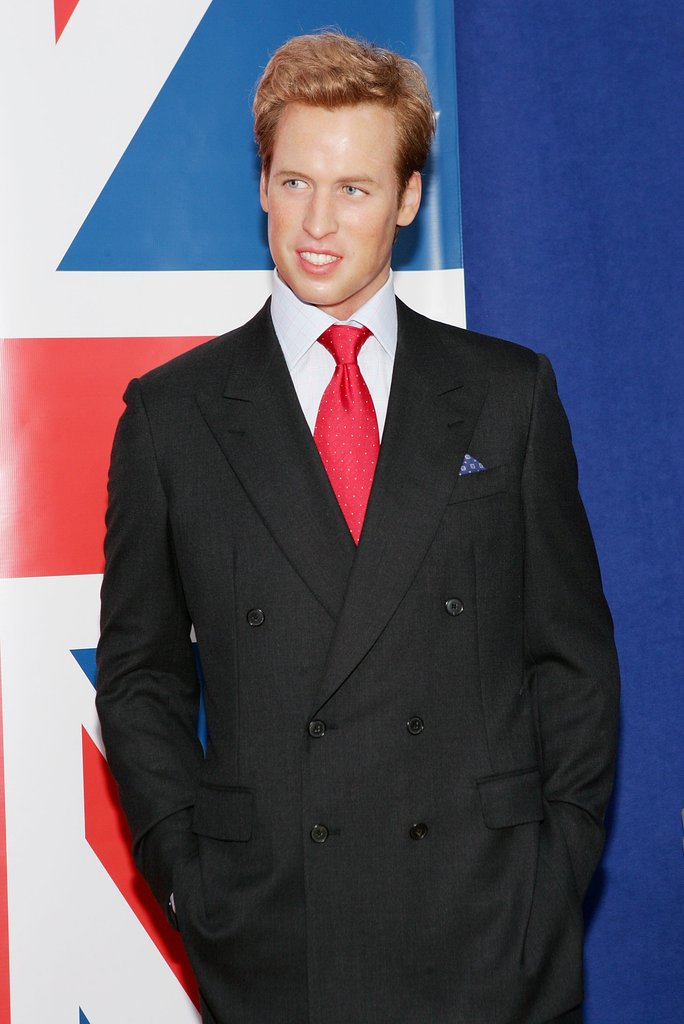The wax Prince William gave a side glance in NYC.