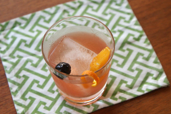 Gin New-Fashioned Cocktail Recipe | POPSUGAR Food