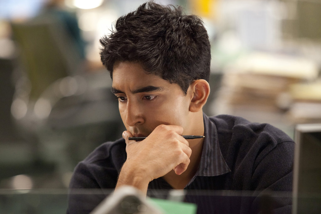 Dev Patel on The Newsroom.