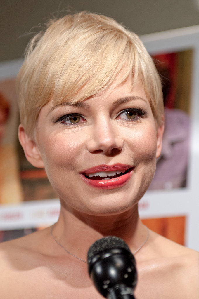 Michelle Williams did interviews.
