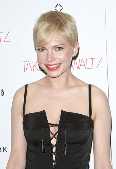 Michelle Williams struck a pose.