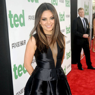 Mila Kunis and Mark Wahlberg Hit the Red Carpet for the Premiere of Ted