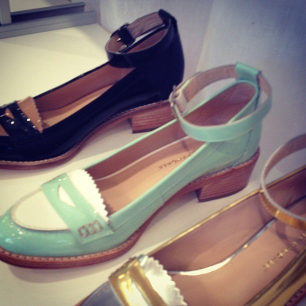 We're obsessing over Loeffler Randall's take on the loafer.