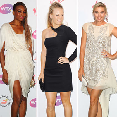 Maria Sharapova and the Other Ladies of Tennis at the Pre-Wimbledon Party