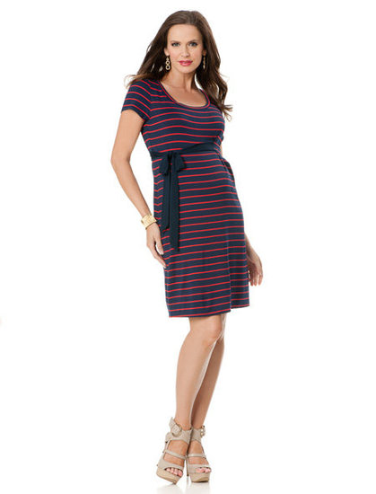 A Pea in the Pod Short-Sleeve Maternity Dress ($90)