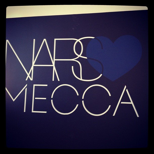 Publisher Marisa went to see the new NARS offering from Mecca Cosmetica.