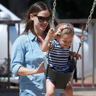 Jennifer Garner and Seraphina Park Pictures