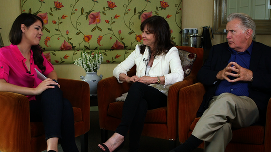 Sally Field and Martin Sheen Talk Onscreen Chemistry and Parenting Spider-Man