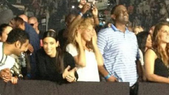 Video: Is Beyoncé Friends With Kim Kardashian?