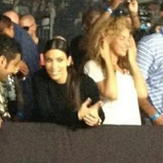 Beyonce Kim Kardashian Watch the Throne Concert (Video)