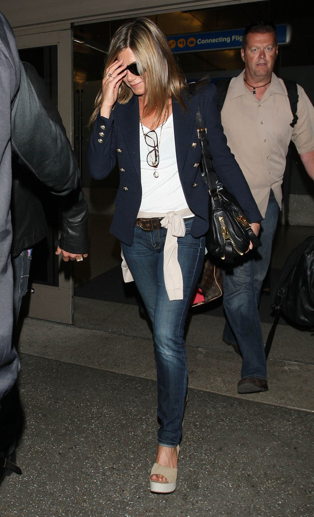 Jennifer Aniston at LAX.