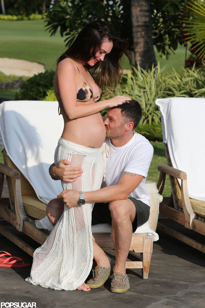 Megan Fox and Brian Austin Green had a pregnancy photo shoot in Kona.