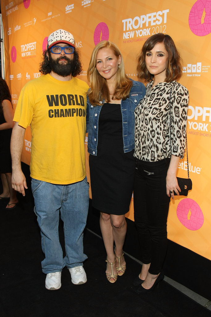 Judah Friedlander, Jennifer Westfeldt and Rose Byrne