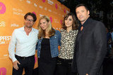 John Polson, Jennifer Westfeldt, Rose Byrne and Hugh Jackman