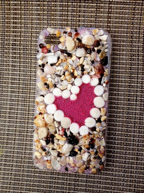 Sand and Shells Case ($20)