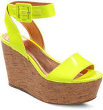 A bold pop of neon gives these seemingly simple wedges a cool, Summery kick. BCBGeneration Lee Platform Wedge Sandals ($89)