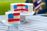 Recipes: Flag Cake