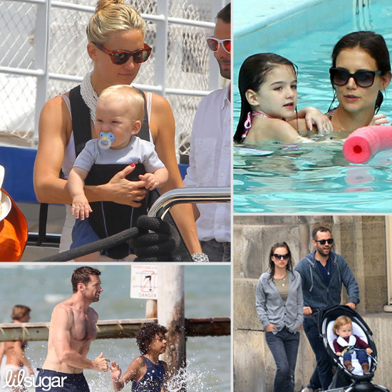 Celeb Tots Love Their Vacations!
