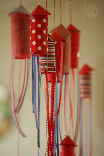 For July 4: Confetti Popper Rockets