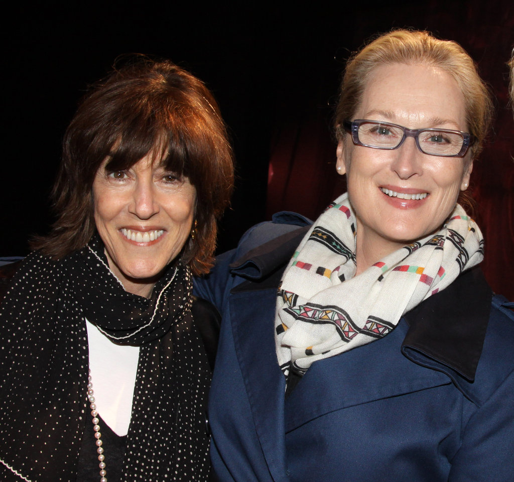 """Above all, be the heroine of your life, not the victim."" — Nora Ephron on her life philosophy"