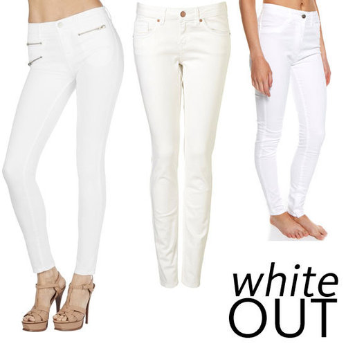 Top Five White Jeans to Buy Online For Every Budget: J Brand to Topshop, Cheap Monday to Lee.