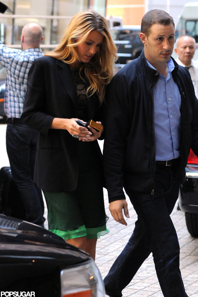 Blake Lively was in NYC.