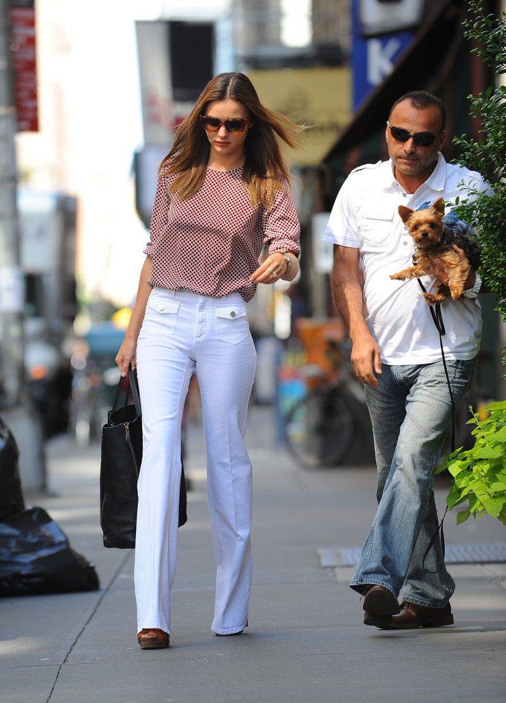 Miranda Kerr was out in NYC.