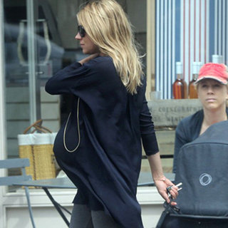 Pregnant Sienna Miller Pictures in London