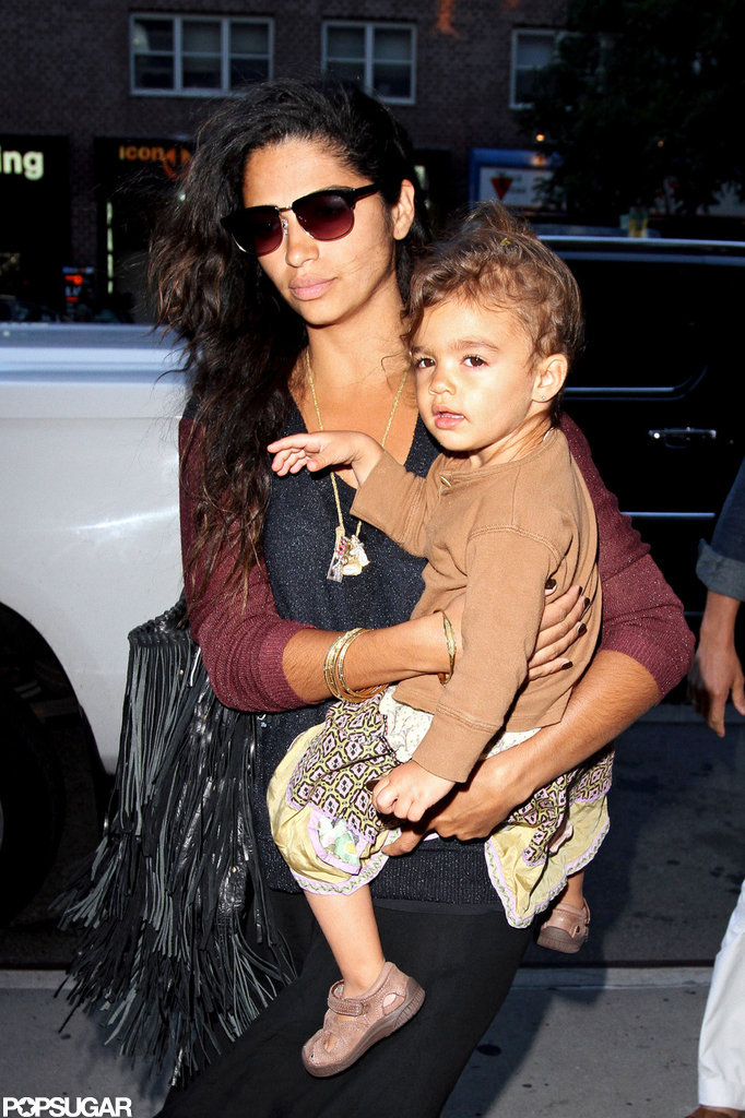 Camila Alves carried Vida McConaughey in NYC.