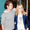 Emma Stone and Andrew Garfield in NYC for The Late Show and the Worldwide Orphans Foundation Gala