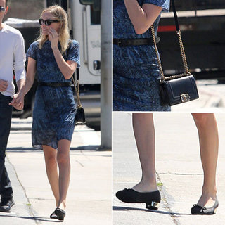 Kate Bosworth Wearing Dress June 2012