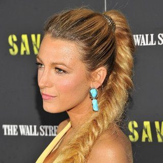Blake Lively Fishtail Braid