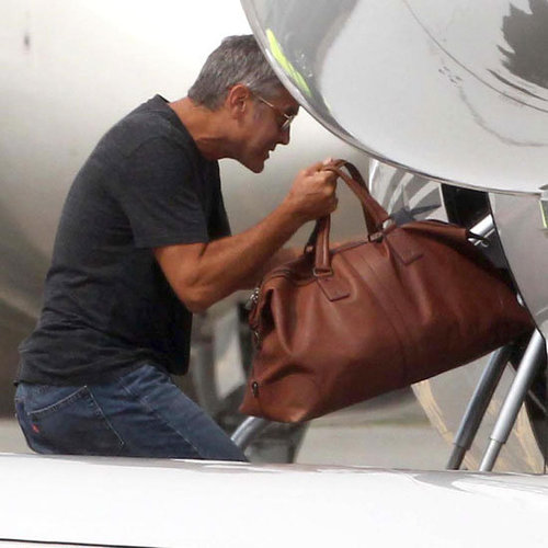 Jennifer Aniston Travels With George Clooney Pictures