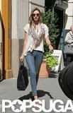 Miranda Kerr walked on the streets of Manhattan.
